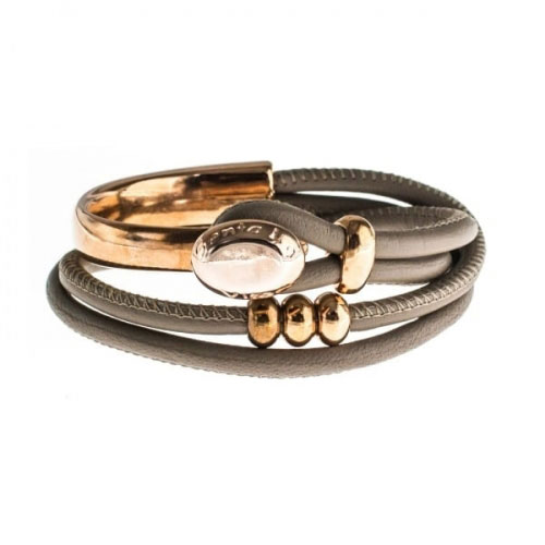 Senta La Vita Earth Double Wrap Half Bracelet