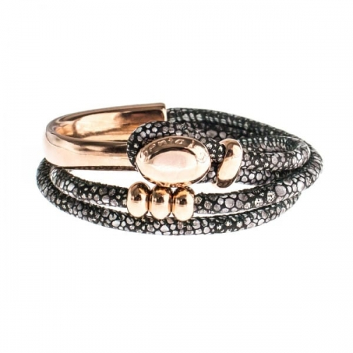 Senta La Vita Stingray Double Wrap Half Bracelet