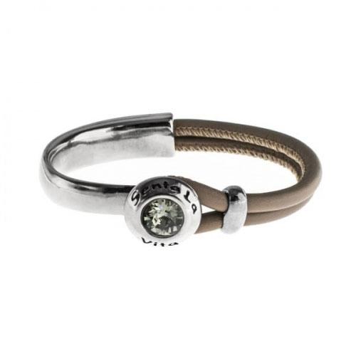 Senta La Vita Earth Half Bracelet with Swarovski Stone
