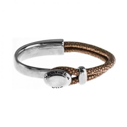 Senta La Vita Bronze Half Bracelet