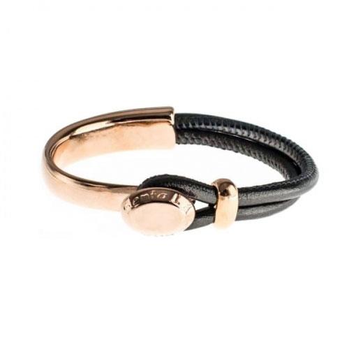 Senta La Vita Anthracite Metallic Half Bracelet