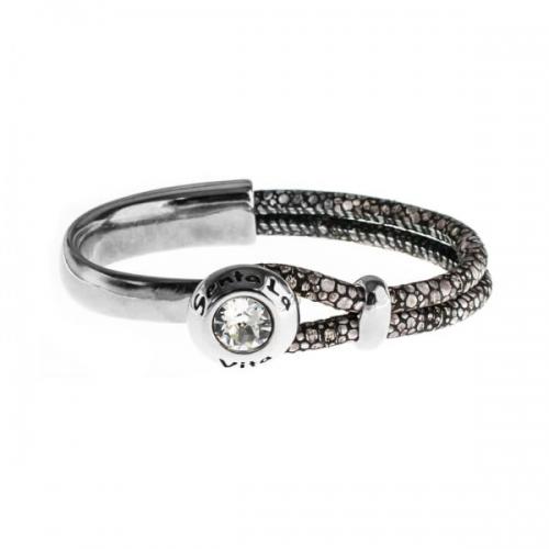 Senta La Vita Stingray Half Bracelet with Swarovski Stone