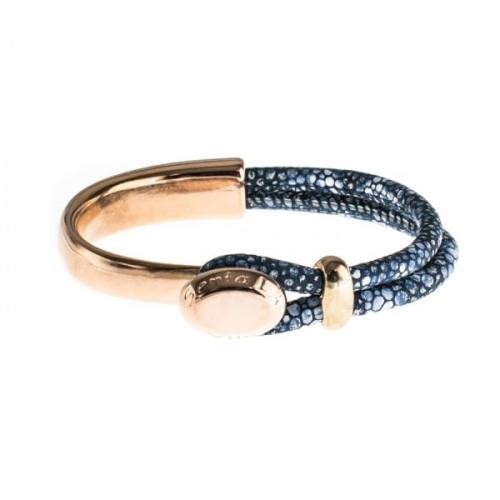Senta La Vita Stingray Blue Half Bracelet
