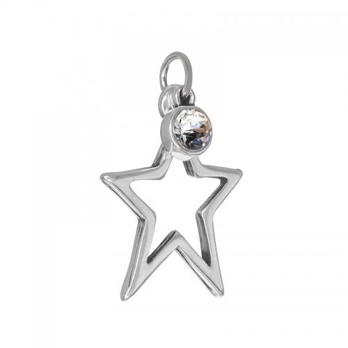 Senta La Vita  Clear Swarovski Star Pendant