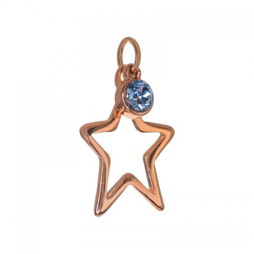 Senta La Vita  Light Sapphire Swarovski Star Pendant