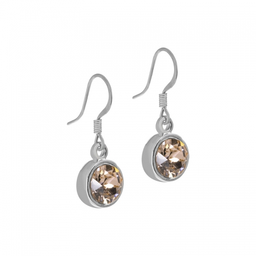 Senta La Vita Champagne Swarovski Earrings