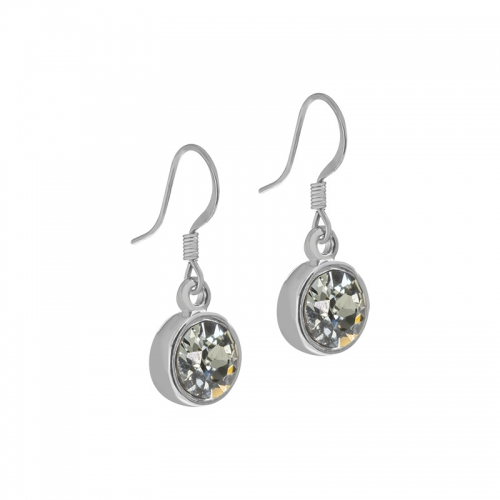 Senta La Vita Black Diamond Swarovski Earrings