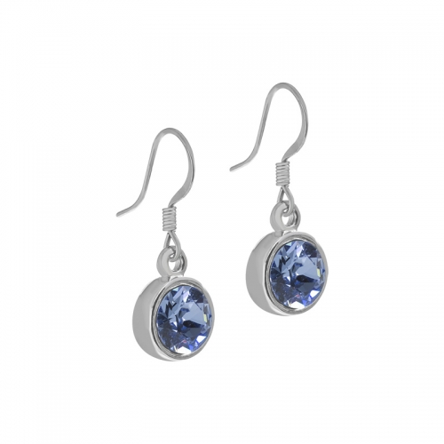 Senta La Vita Light Sapphire Swarovski Earrings