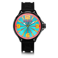 Holler Funked Up Blue & Red Watch