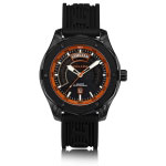 Holler Superfly Black & Orange Watch