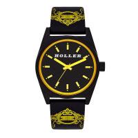 Holler Backbeat Black & Yellow Watch