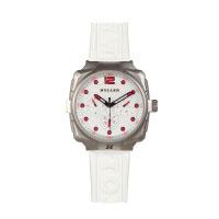 Holler Impact White Chrono Watch
