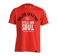 Holler Garvin Red, Black, Grey & White T-Shirt