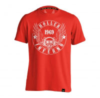 Holler Jenkins Red And White T-Shirt