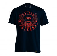 Holler Jenkins Navy And Red T-Shirt