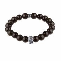 Holler Jefferson 10mm Agate Stone Bracelet