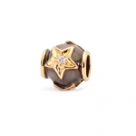 Trollbeads Stars 18ct Gold & Diamond Bead 31809