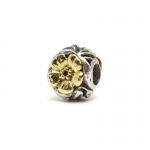 Trollbeads Flowers Silver & 18ct Gold Bead 41804