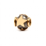 Trollbeads Stars Silver & 18ct Gold Bead 41809