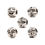 Trollbeads Faces Silver Bead 11105