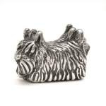 Trollbeads Scottish Terrier Silver Bead 11244