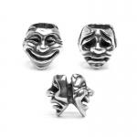 Trollbeads Theatre Masks Silver Bead 11315