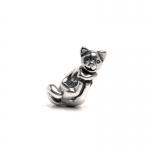 Trollbeads Big Cat Silver Bead 11319