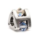Trollbeads Small Summer Jewel Silver & Swarovski Crystal Bead 61714