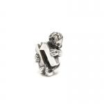 Trollbeads Cherub Number 11 Silver Bead 11322-11