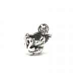 Trollbeads Cherub Number 12 Silver Bead 11322-12