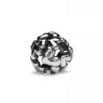 Trollbeads Heart Ball Silver Bead 11446