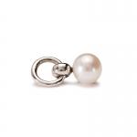 Trollbeads Pearl Tassel Silver & Pearl Bead 51736