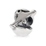 Trollbeads Libra Silver Bead 11346