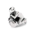 Trollbeads Aquarius Silver Bead 11350