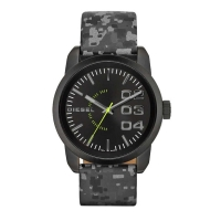 Diesel Double Down Camo Watch