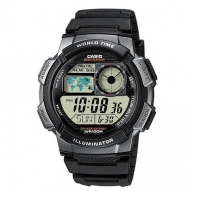 Casio World Alarm Chronograph Watch AE1000W-1BVEF