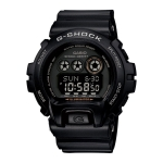 Casio G-Shock XL Men's Black Alarm Chronograph Watch GD-X6900-1ER