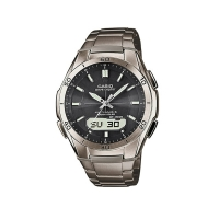 Casio Waveceptor Titanium Men's Silver Alarm Chronograph Watch WVA-M640TD-1AER