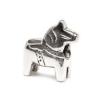 Trollbeads Dala Horse Silver Bead 11312