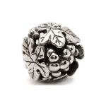 Trollbeads Wine Harvest Silver Bead 11329