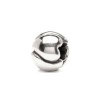 Trollbeads Heart Small Silver Bead 11118