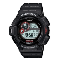 Casio G-Shock Mudman Men's Black Alarm Chronograph Watch G-9300-1ER
