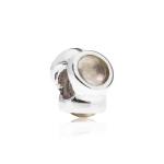 Pandora Natural Light Silver & Rose Quartz Charm 790351RQ