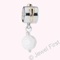 Pandora Silver Golf Ball Pendant Charm 790440AGW
