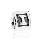 Pandora Alpha I Silver Initial Charm 790323I