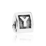 Pandora Alpha Y Silver Initial Charm 790323Y
