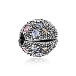 Pandora Cosmic Stars Silver & CZ Clip 791286PCZMX