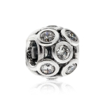 Pandora Openwork Sparkling Circles Silver & Clear CZ Charm 791153CZ