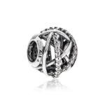 Pandora Sparkling Galaxy Openwork Silver & White CZ Charm 791388CZ