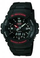 Casio G-Shock World Time Men's Black Watch GA-100-1A4ER